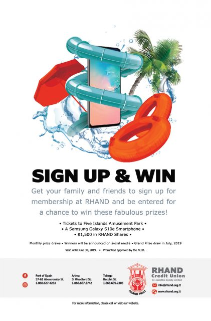 Sign up and win Q2 2019 Promotion.